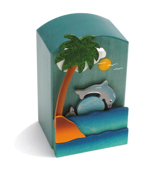 14501 Weizenkorn Motion Music Box Dolphin