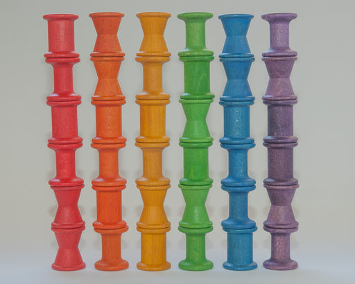15-104 Grapat Coloured Spools 36 Pieces Australia