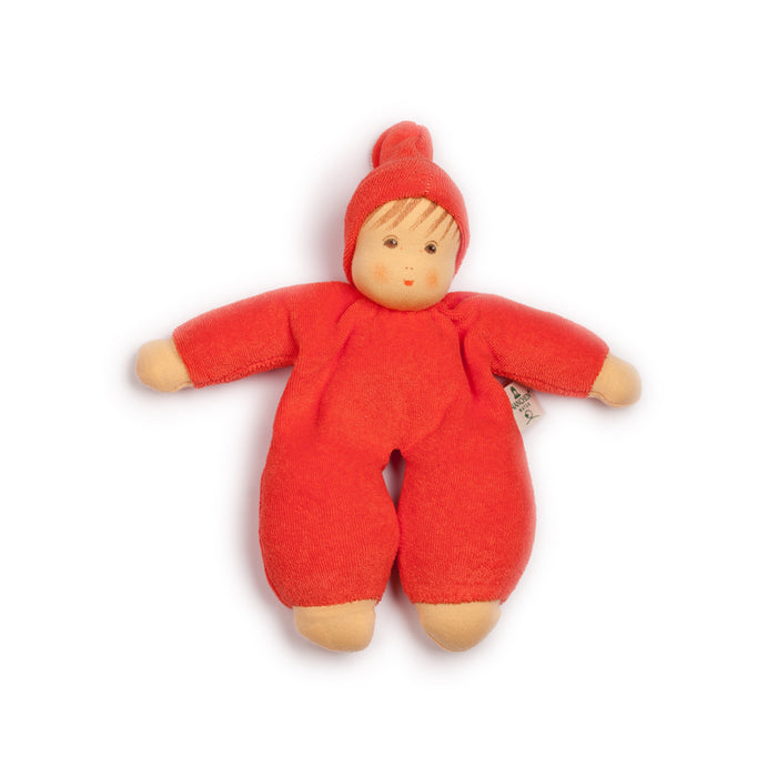 151042 Nanchen Natur Cuddle Me Doll Red