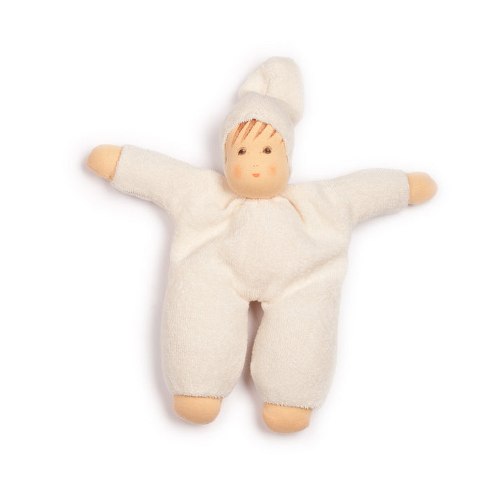 151046 Nanchen Natur Cuddle Me Doll Natural