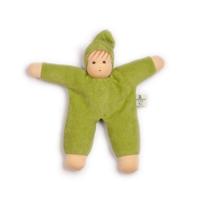 151047 Nanchen Natur Cuddle Me Doll Green