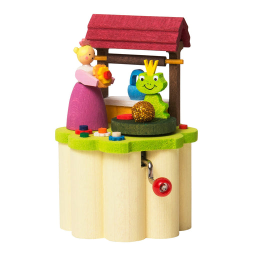 15900 Graupner Music box with Crank Frog Prince 01