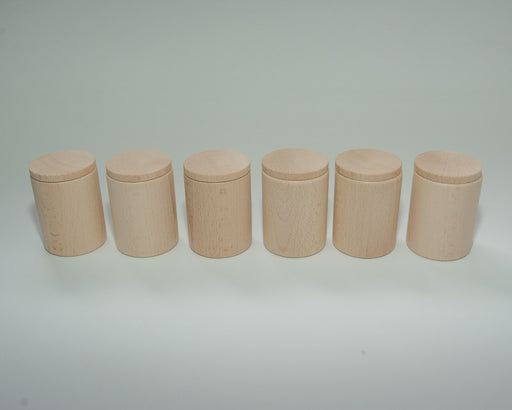 16-136 Grapat 6 Natural Cups with Lids Australia