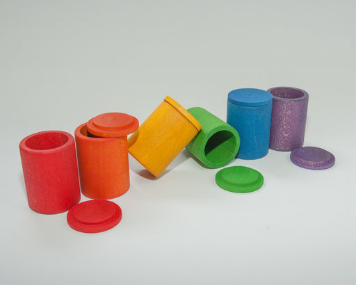 16-137 Grapat 6 Coloured Cups with Lids Australia