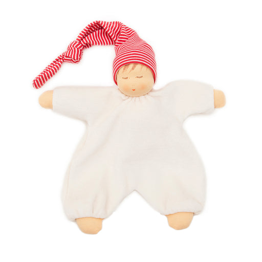 166422 Nanchen Natur Sleeping Baby Red