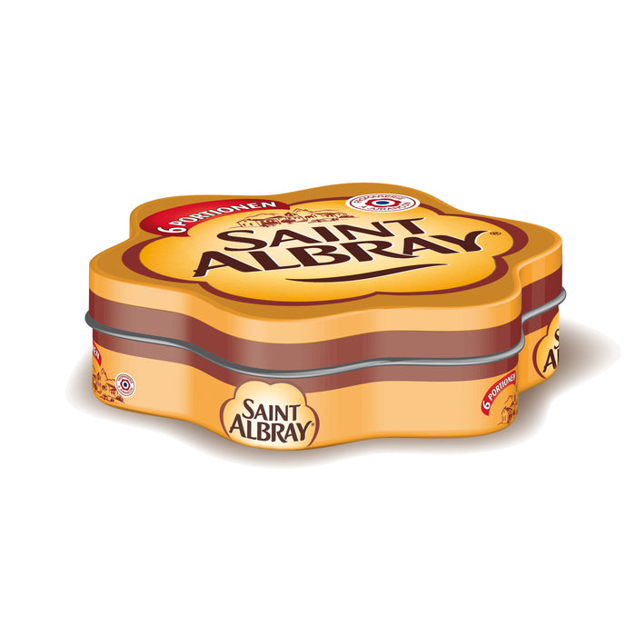 17055 Erzi Saint Albtray Cheese in a Tin
