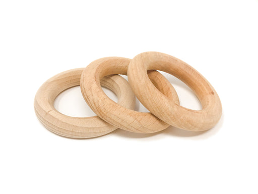 18-185 Grapat 3 Hoops in Natural Wood Small