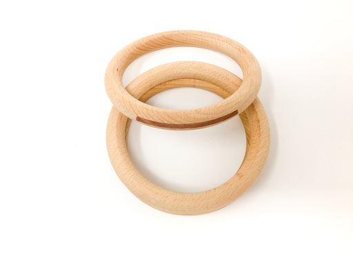 18-186 Grapat 3 Hoops in Natural Wood Large