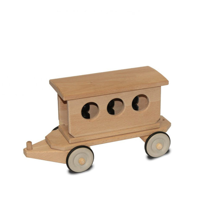 180145 Dynamiko Wooden Train Passenger Carriage
