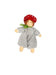 217401 Nanchen Natur Little Toadstool Plush Doll
