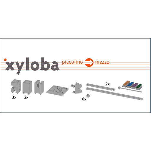 22014 Xyloba Sound Marble Run Extension Kit Piccolino to Mezzo