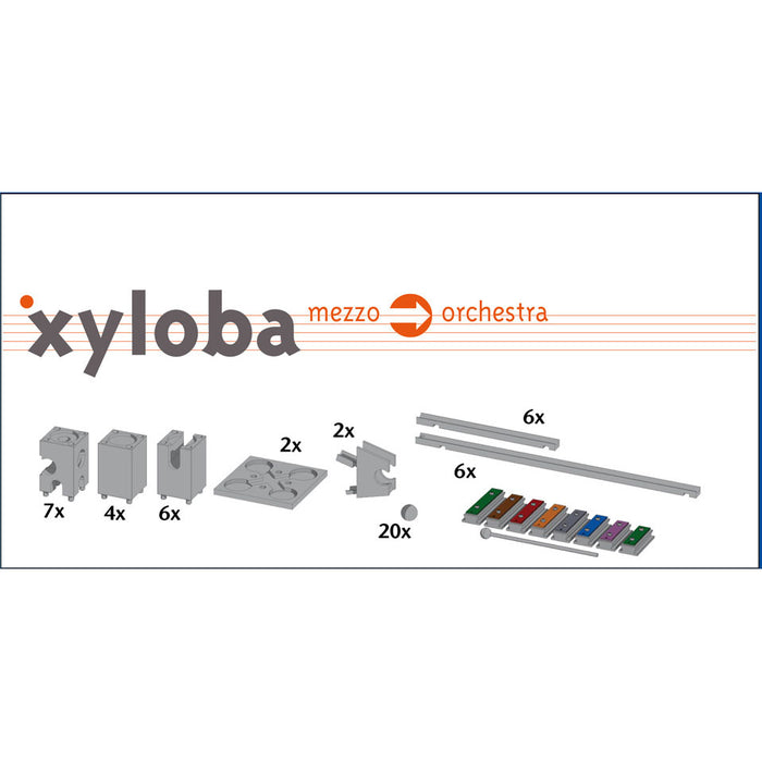 22015 Xyloba Sound Marble Run Extension Kit Mezzo to Orchestra
