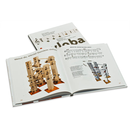 22401.DE Xyloba Sound Marble Run Melody Booklet