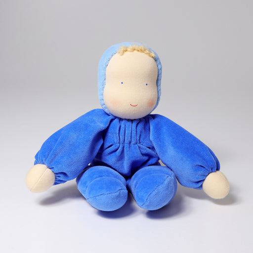 22560 Grimm's Soft Doll Blue