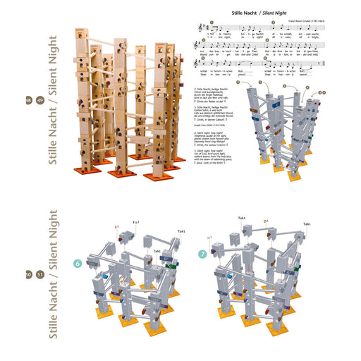 22612 Xyloba Sound Marble Run Melody Track Silent Night