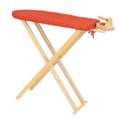 2315 Drewart Wooden Ironing Board with Iron