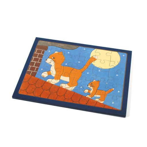 25153 Weizenkorn Wooden Cat Puzzle 30 Pieces
