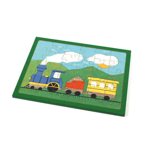 25154 Weizenkorn Wooden Train Puzzle 30 Piece