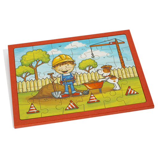 25165 Weizenkorn Wooden Building Site Puzzle 30 Pieces