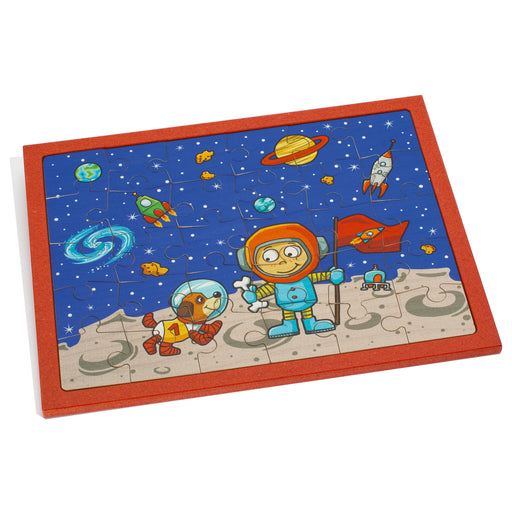 25166 Weizenkorn Wooden Space Puzzle 30 Pieces