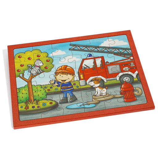 25167 Weizenkorn Fire Engine Puzzle 30 Piece