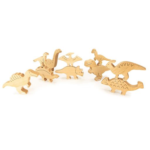 25210 Bajo Dinosaur Set 10 pieces