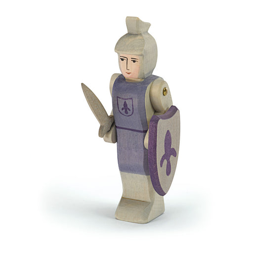 2740 Ostheimer Knight standing blue with sword