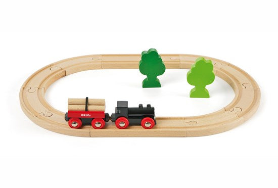 BRI33042 BRIO Little Forest Train Set 18 pieces