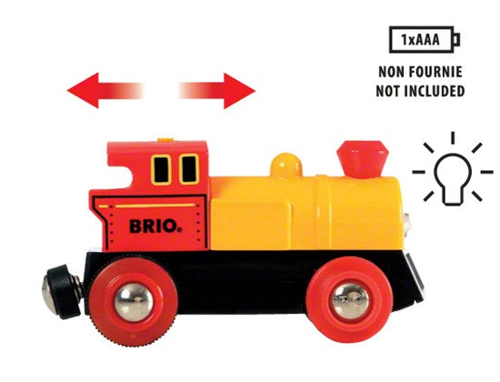 33319 BRIO Action Train Battery Operated