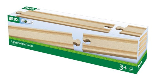 BRI33341 BRIO Straight Tracks Long 4 pieces