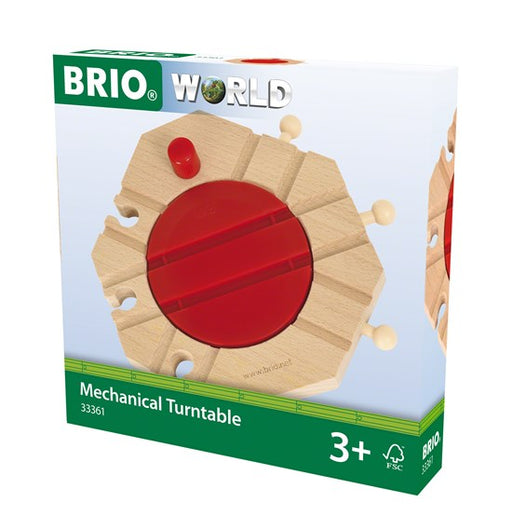 BRI33361 BRIO Mechanical Turntable