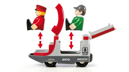 BRIO Travel Switching Set 42 pieces