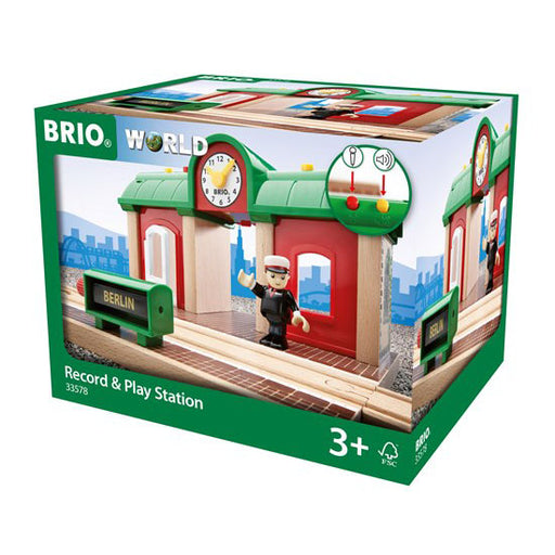 BRIO record and play station 01