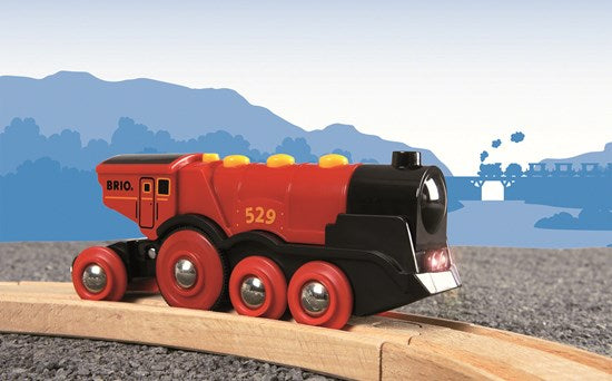 33592 BRIO Mighty Red Action Locomotive