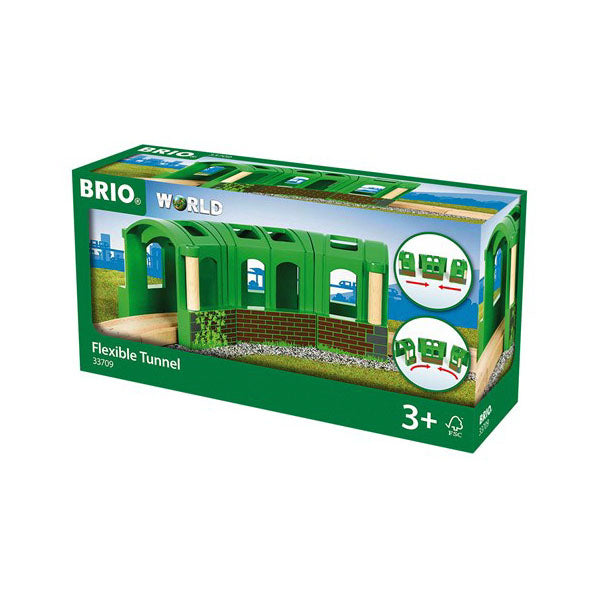 33709 BRIO Flexible Tunnel 3 pieces