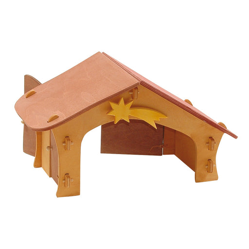 3500 Ostheimer Nativity Stable with Star and Bird Perch Australia