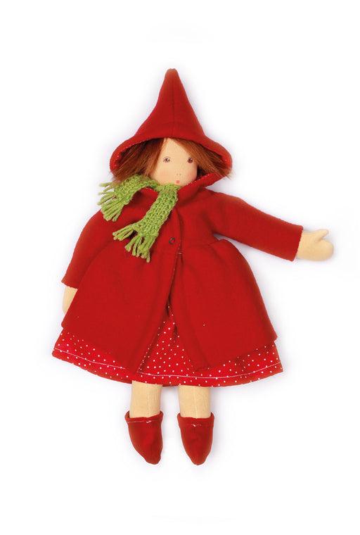 350102 Nanchen Natur Little Red Riding Hood Doll