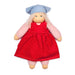 368403 Nanchen Natur Lotti Doll Red Pink