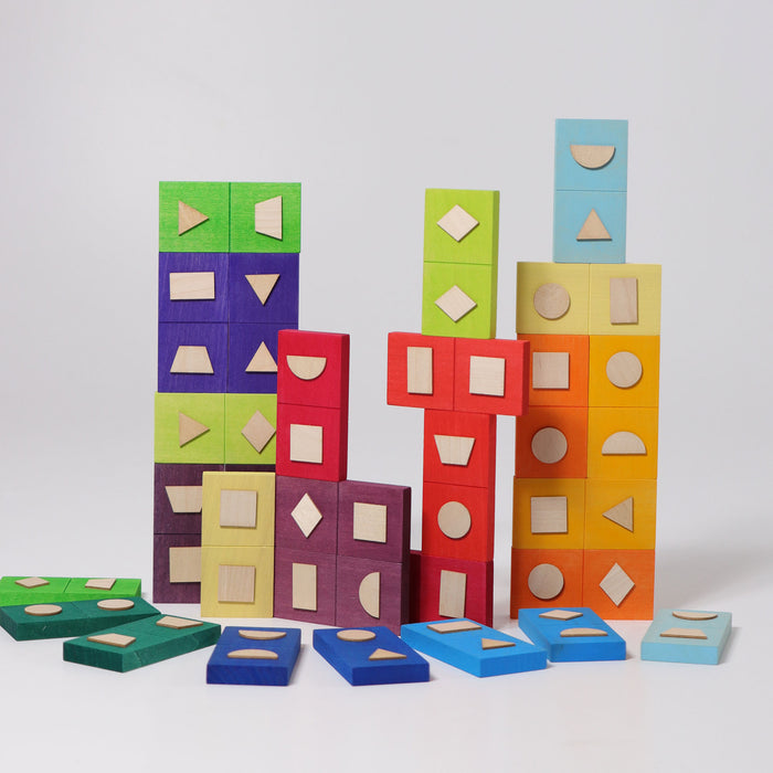 Grimm's Domino Geometrical Shapes