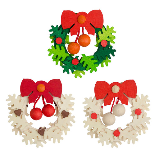 41300 Graupner Tree Ornaments Set of 6 Wreaths