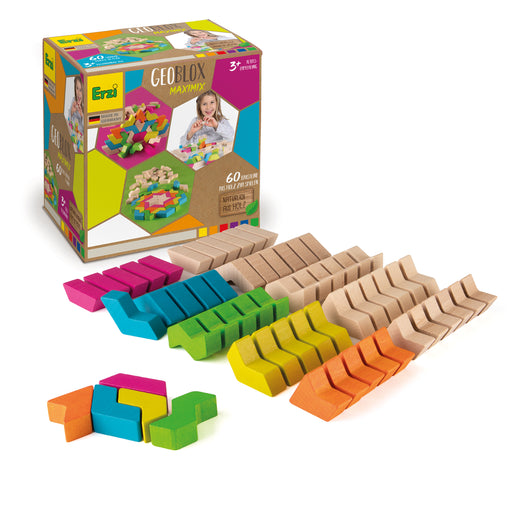 42094 Erzi Building Blocks GeoBlox MaxiMix