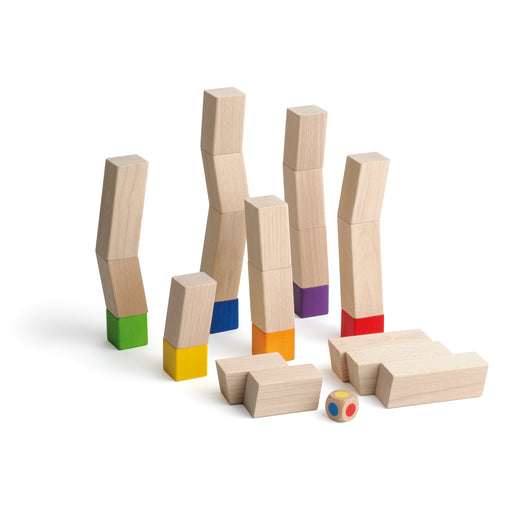 42363 Erzi Wooden Balancing Towers