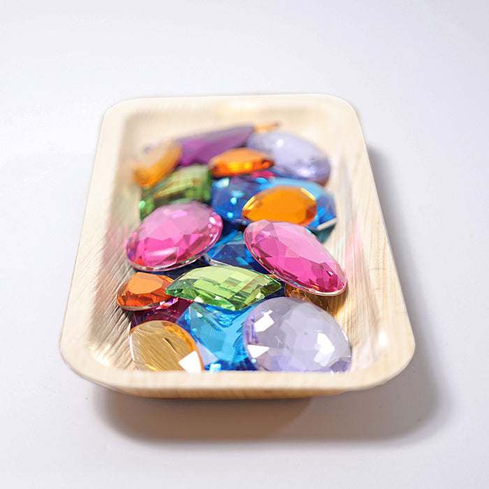 Grimm's Giant Acrylic Glitter Stones 28 pieces