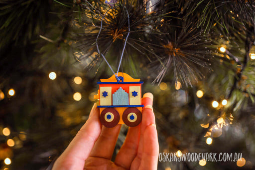 43230 Barrel Organ Graupner Christmas tree ornament