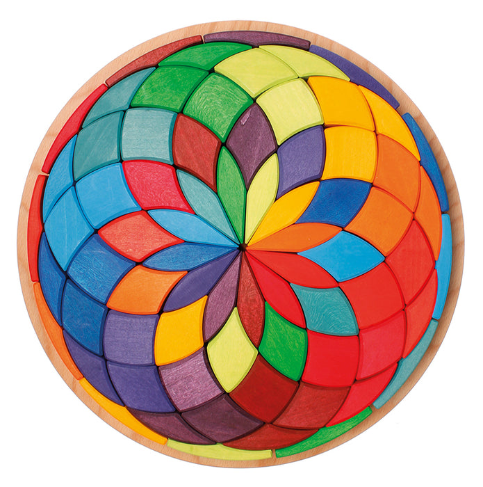 43270 Grimms Large Mandala Colour Circle Spiral