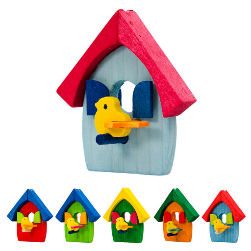 43340 Graupner Tree Ornament Bird House Set of 6 01