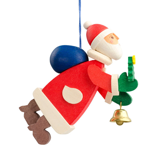 45810 Graupner Tree Ornament Santa with Bell 01