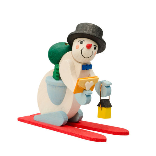 45821 Graupner Tree Ornament Skiing Snowman 01
