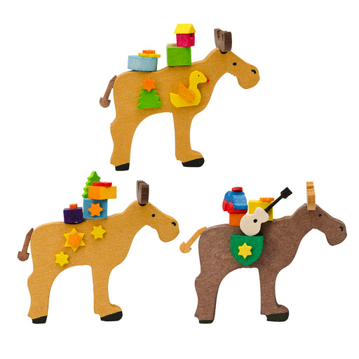 45830 Graupner Tree Ornament Moose Set of 6 01