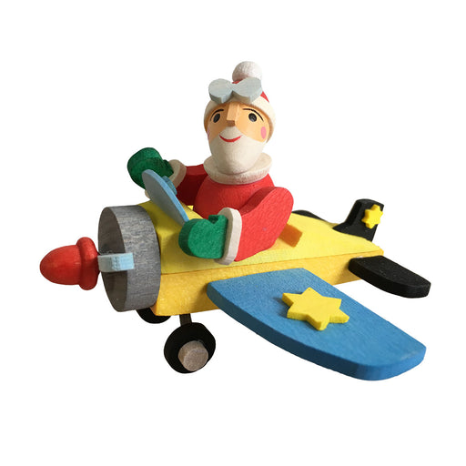 45940 Graupner Tree Ornament Santa in Plane 01